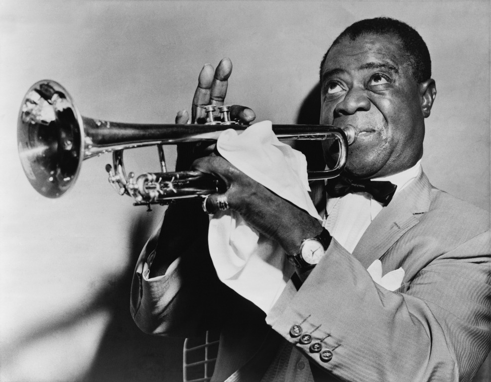 Did you know that Louis Armstrong had fantastic ears? He transcribed whole recordings--all the instruments--to his band to teach them a new song that they wanted to play.
