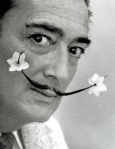 surrealist painter, Salvador Dalí