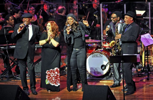 """MSO concert in support of the """"Soulsville"""" neighborhood of Memphis: with Booker T. Jones, Susan Marshall, Wendy Moten, William Bell, and Kirk Whalum"""