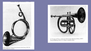 German posthorn and cornet-à-piston with Stölzel valves