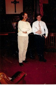 With Charlie Geyer 1992