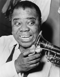 Louis Armstrong established his legacy by both playing the trumpet and singing