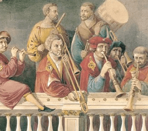 Renaissance wind ensembles improvised their performances in large part