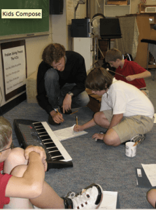 Kids Compose! allows hundreds of schoolchildren between second and sixth grades from Monroe County to use their imagination to compose melodies