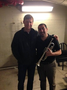 with Raymond Riccomini, Second Trumpet at the Metropolitan Opera.