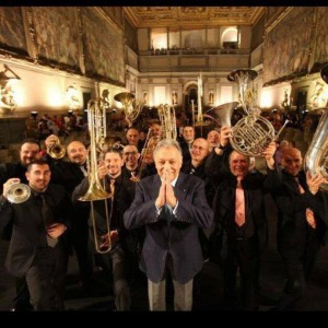Brass Section of the Maggio Musicale Fiorentino Festival with Zubin Mehta