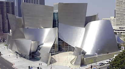 Frank Gehry's Disney Hall, home of the L. A. Philharmonic