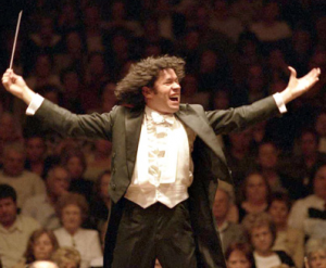 Gustavo Dudamel, music director of the LA Philharmonic