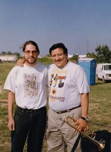 Brant Tilds with Arturo Sandoval in Oklahoma