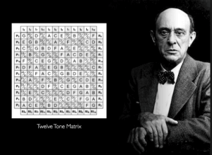 "Schoenberg, a masterful composer, is best known now for ""inventing"" 12-tone serialism"
