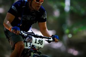 Davy DeArmond mountain biking