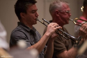 Neil Brown playing with the Fairfax Symphony Orchestra