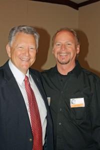 Jerry Bobo with Mart Avant