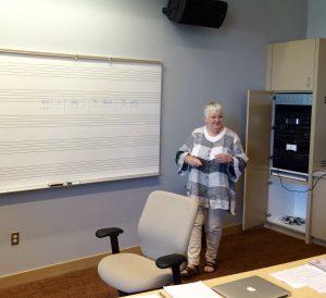 Ann-Marie Sundberg, the only Suzuki trumpet teacher-trainer in the world