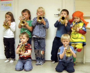 Swedish Suzuki Trumpet Class